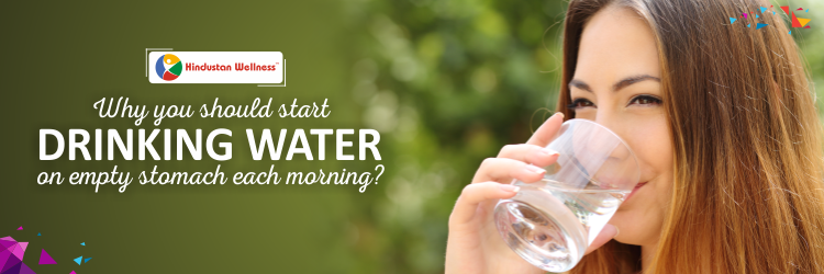 Why You Should Start Drinking Water On Empty Stomach Each Morning?