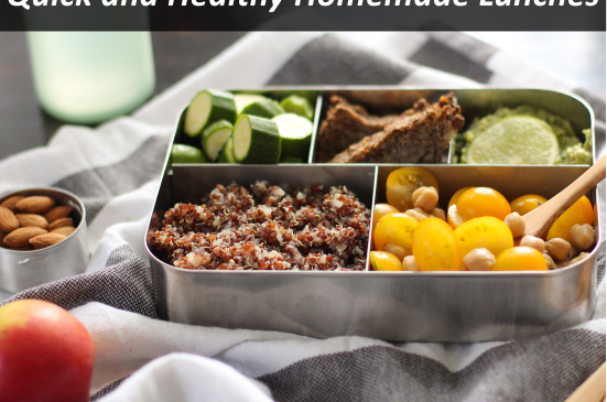 10 Quick and Healthy Homemade Lunches